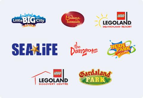 Merlin Share The Fun Alton Towers Thorpe Park Chessington Legoland