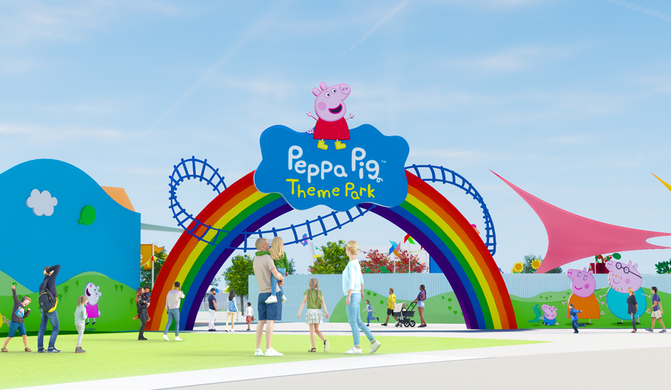 Merlin Entertainments World S First Peppa Pig Theme Park To Open At Legoland Florida Resort In 2022